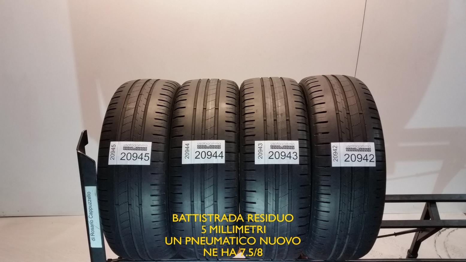 gomme usate auto 185 55r15 82h goodyear efficientgrip pneumatici usati ebay. Black Bedroom Furniture Sets. Home Design Ideas