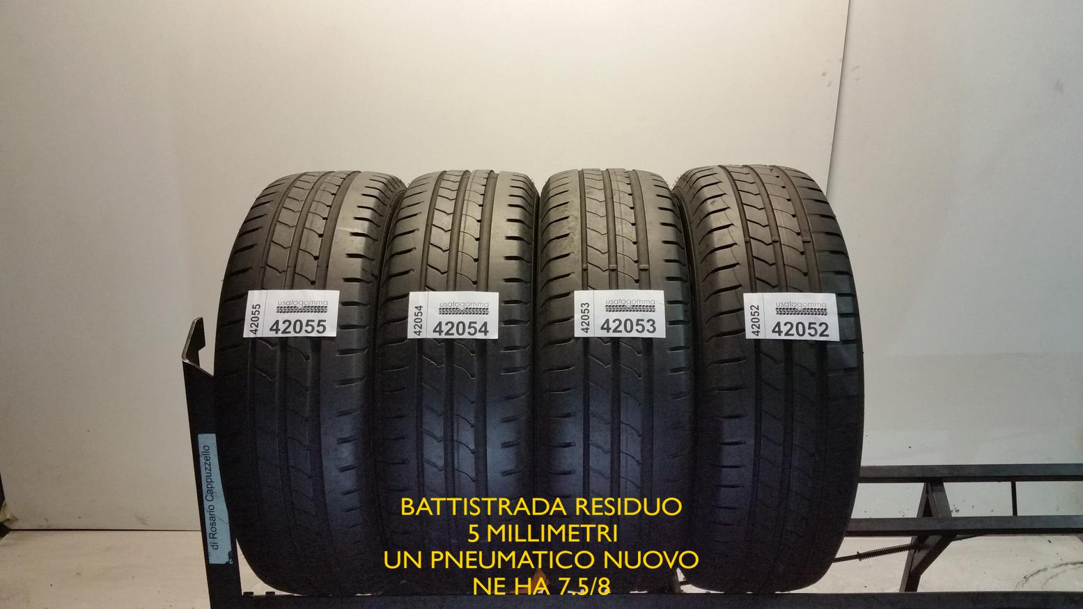 Goodyear 195/60 R16 89 H  usato gomma 11817