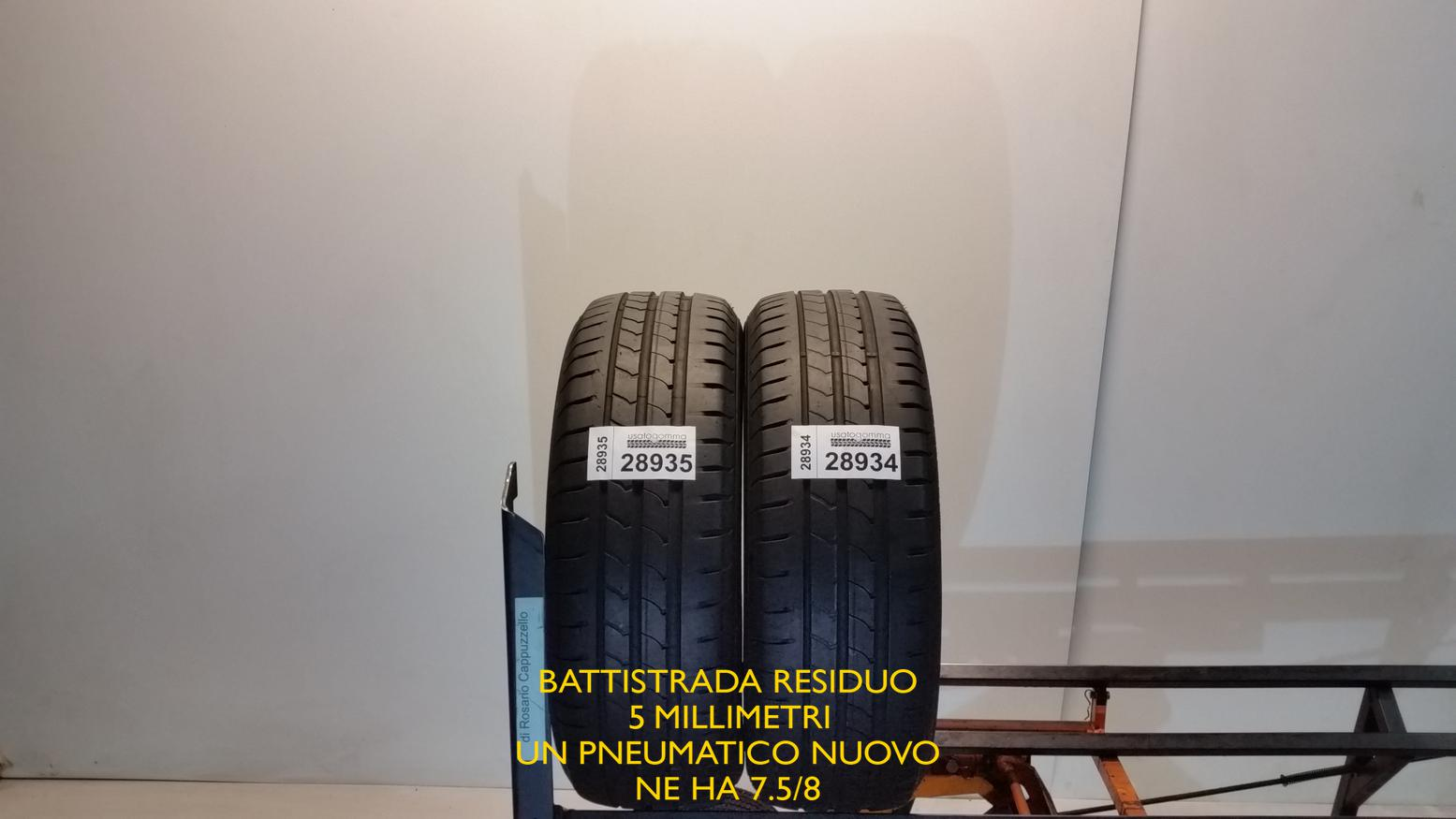 Goodyear 195/60 R16 89 H  usato gomma 6578
