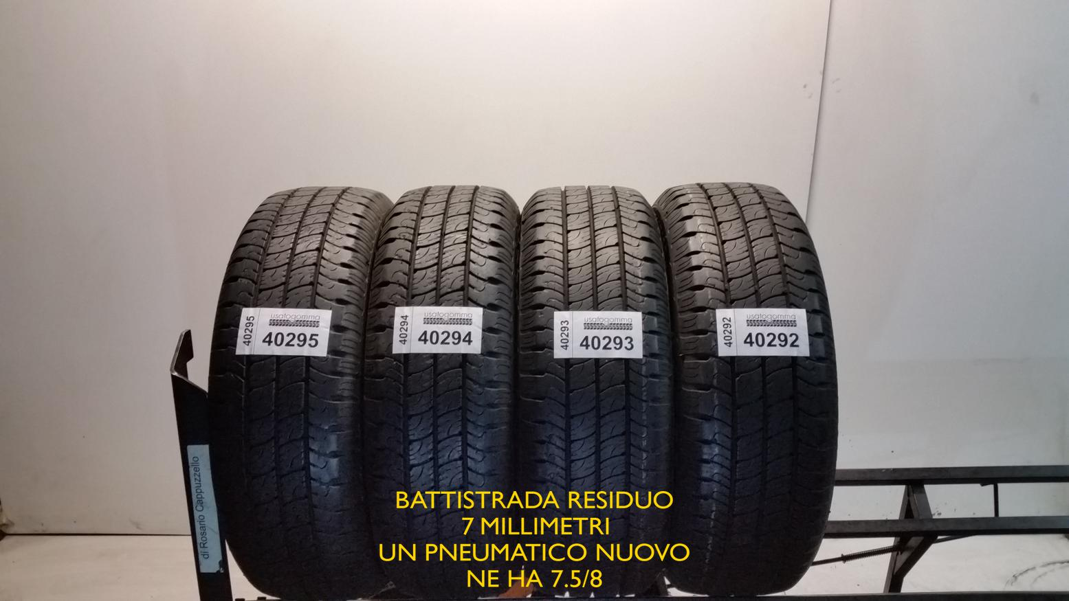 Goodyear 195/60 R16 99 H  usato gomma 11122