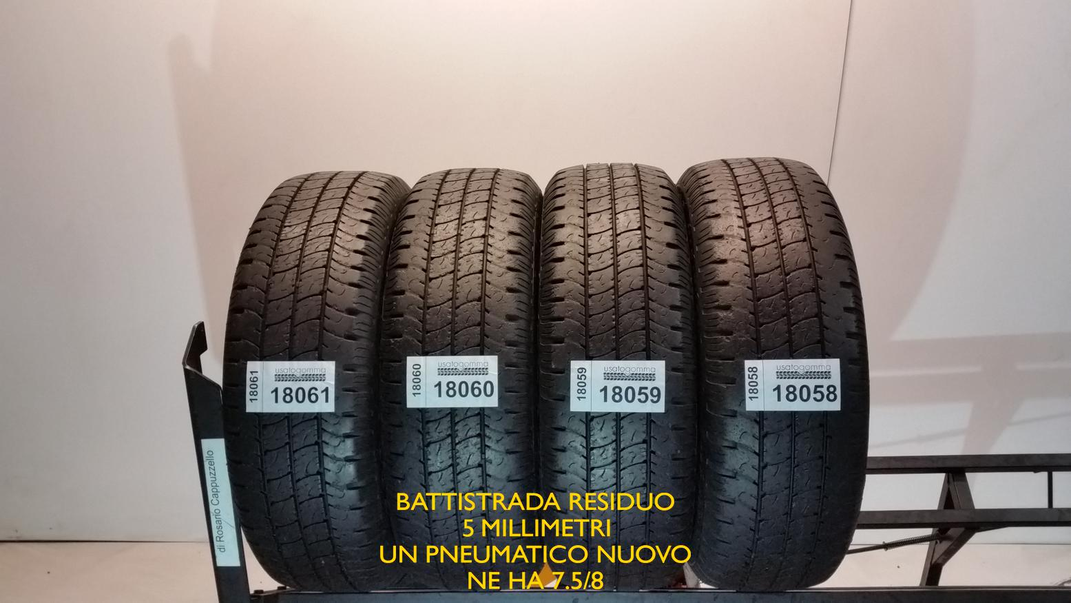 Goodyear 195/60 R16 99 H  usato gomma